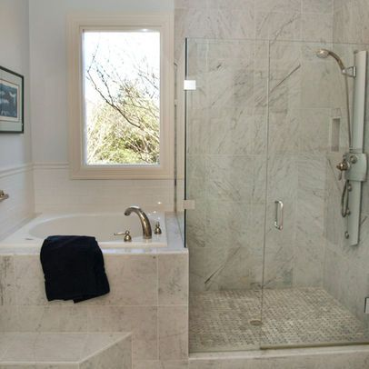 Narrow bathroom with soaker tub east leaf lake for Narrow deep soaking tub