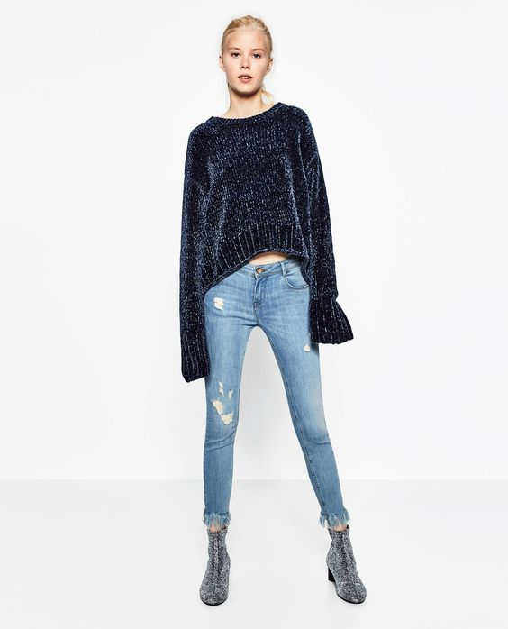 Image 2 of POWER STRETCH JEANS from Zara