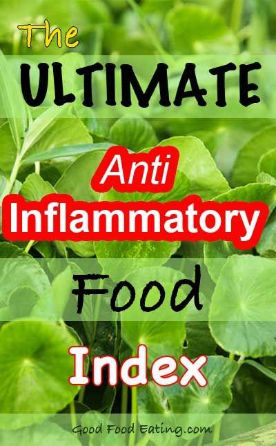 inflammation diet regime study paper