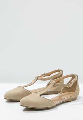 Schoenen Pier One Ballerina's met enkelbandje - beige Beige: € 19,95 Bij Zalando (op 19-9-16). Gratis bezorging & retournering, snelle levering en veilig betalen!