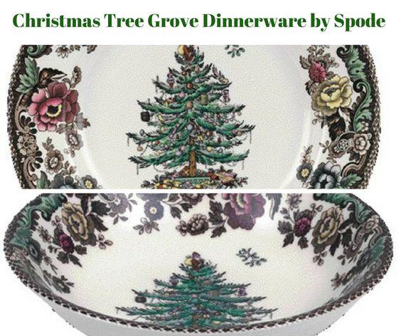 Christmas Tree Grove Dinnerware by Spode