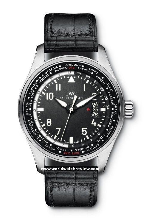 IWC Pilot's Watch Worldtimer Automatic. 2012