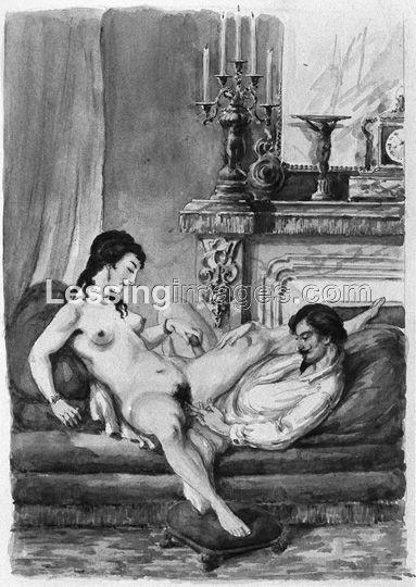 18th 19th century erotic art think