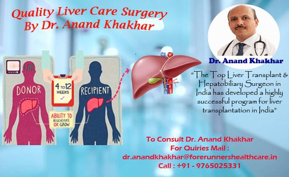 Liver Transplant Surgery by Dr. Anand Khakhar