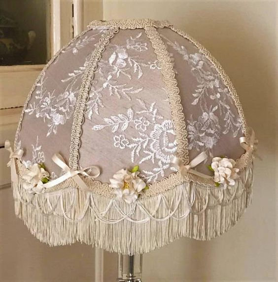Your Place To Buy And Sell All Things Handmade Victorian Lampshades Victorian White Fabrics