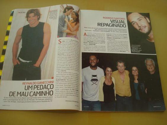 Revista Quem Acontece Taís Araújo Reynaldo Gianecchini N°176 - R$ 25,00 em…