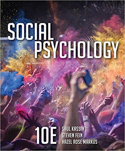 Social Psychology 8th Edition Aronson Pdf