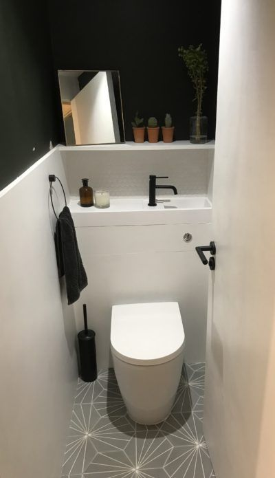 Cloakroom Toilet In 2020 Small Toilet Room Small Downstairs Toilet Cloakroom Toilet