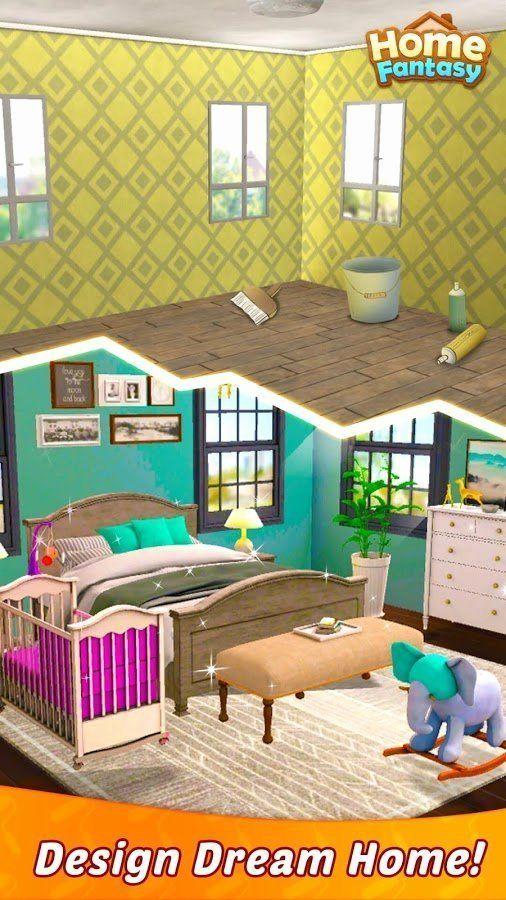 Download Home Design Mod Apk Beautiful Download Home Fantasy Dream Home Design Game Mod House Furniture Design House Design My Home Design