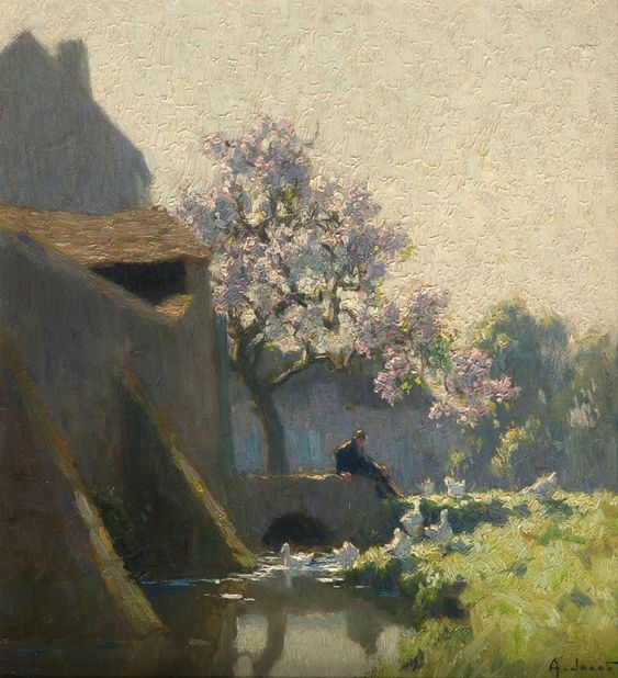 Alexandre-Louis Jacob | Landscape painter: