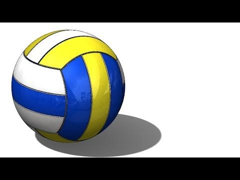 Solidworks Tutorial 245 Volley Ball Youtube Solidworks Tutorial Solidworks Tutorial