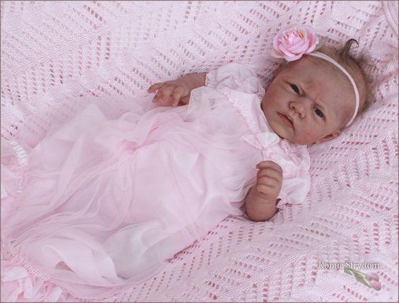 *A Romie Baby *SOLID Full SILICONE ***RAELYN*** Doll #1 of 3 worldwide.   eBay