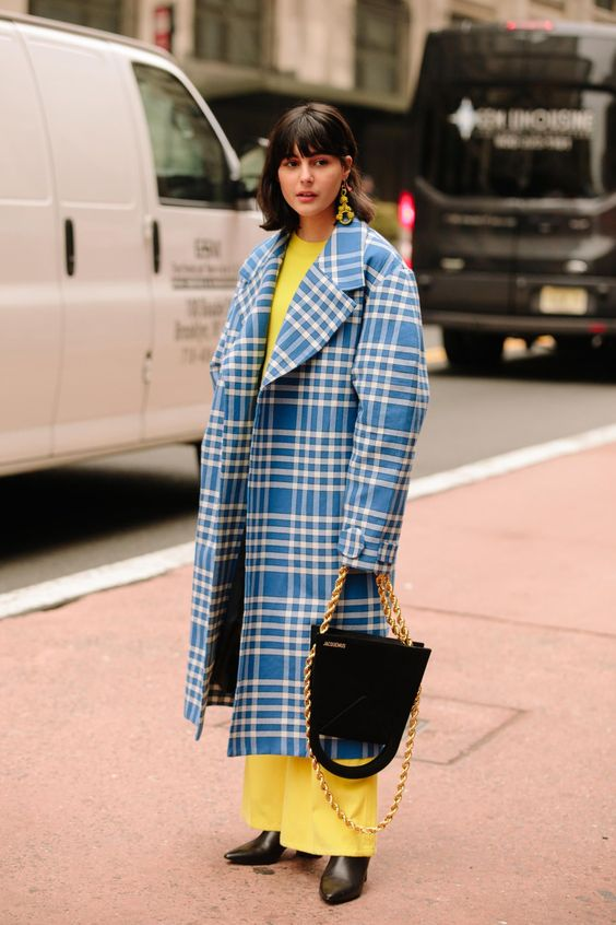 Pretty Pastels Were a Street Style Hit on Day 7 of New York Fashion Week - Fashionista #streetstylefashion,
