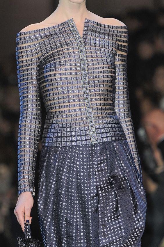 "journaldelamode: "" Armani Prive Haute Couture Spring 2014 Paris """