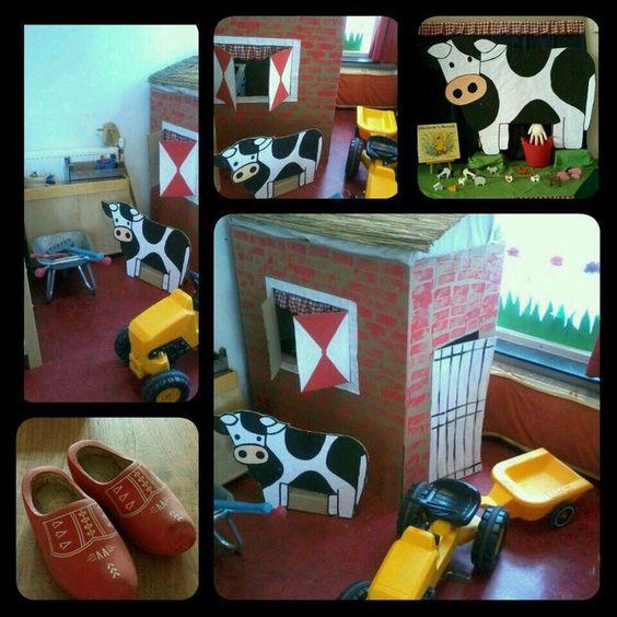 Decorar el colegio como una granja ideas para decorar la - Como decorar una pared ...