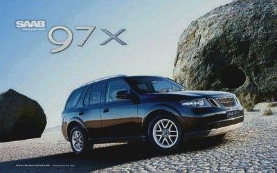 Saab Welcomes A New Addition To The Saab Family The All New Saab 9 7x Luxury Suv Postcard Saab Saab 9 7x Luxury Suv