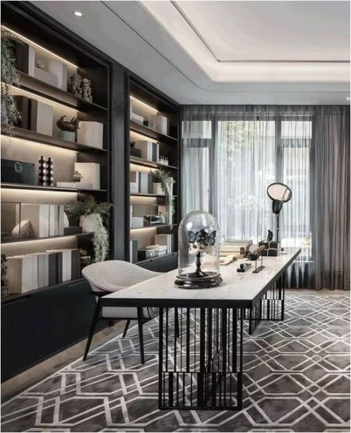 50 Home Office Ideas Working From Your Home With Your Style Engineering Basic Basic C Office Interior Design Home Office Design Modern Office Design