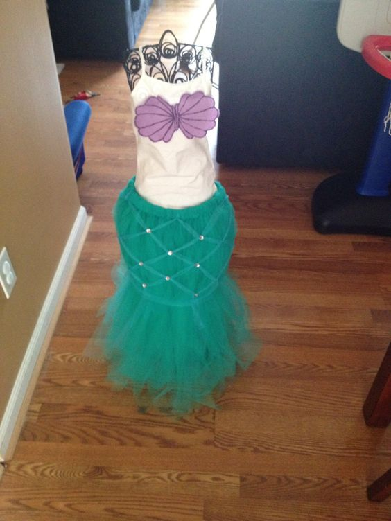 A personal favorite from my Etsy shop https://www.etsy.com/listing/205532155/the-little-mermaid-costume