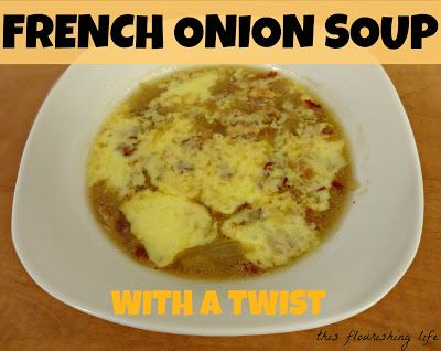 Onion soup recipes, French onion soups and Bacon on Pinterest