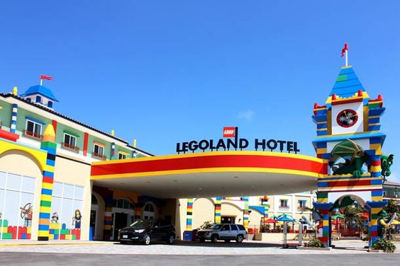 Legoland hotel outside