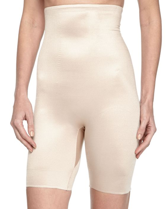 High-Rise Mid-Thigh Shaper, Nude, Women's, Size: S - TC Shapewear