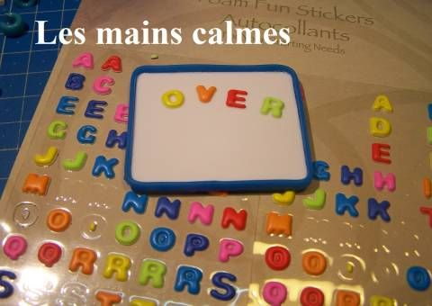 how to: mini magnetic letter board