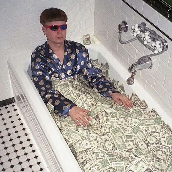 Money Bath