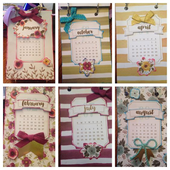 Stampin Up Calendar Ideas : Stampin up december calendar alternate project with o