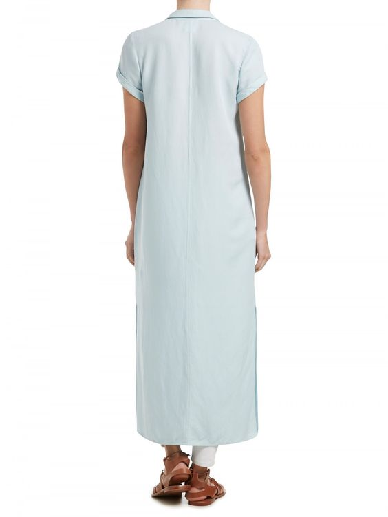Maxi Shirt Dress - Dresses/Jumpsuits - Clothing