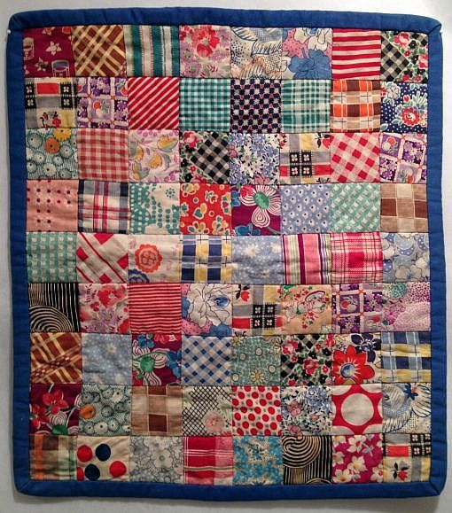 Colorful Vintage Doll Quilt Doll Quilt Quilts Vintage Quilts