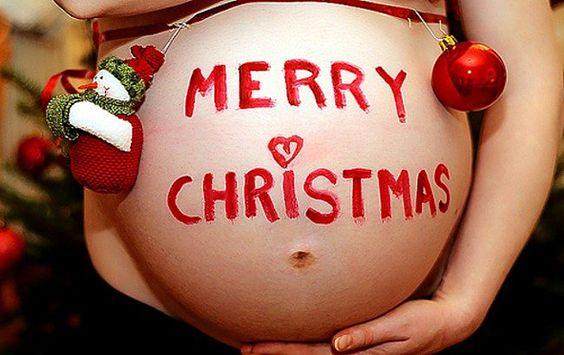 Te damos una serie de consejos para estas Navidad y el embarazo.: