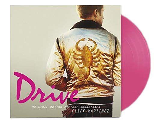 Drive Original Soundtrack 2xlp Pink Vinyl Lp Re Press Soundtrack Vinyl Records Vinyl