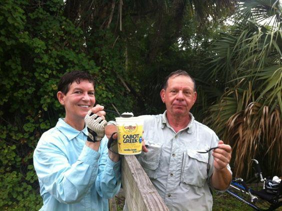 Cathy & Myron Skott on the #community2012 Cabot Community Tour