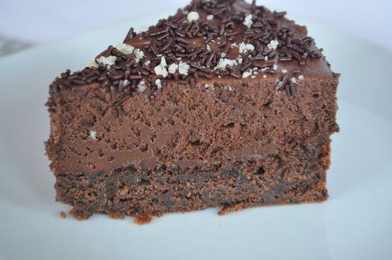 Il y a bien longtemps, c'était bien avant d'avoir l'idée de créer un blog, j'avais trouvé sur le net une recette de dessert au chocolat que j'avais proposé une fois à des amis et une autre fois à ma famille. J'avais beaucoup aimé ce gâteau composé d'une...