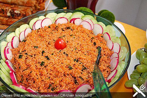 Bulgur-Salat (Kisir), ein schmackhaftes Rezept aus der Kategorie Dünsten. Bewertungen: 24. Durchschnitt: Ø 4,6.