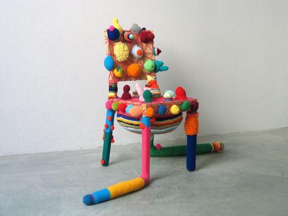 Joana Vasconcelos Pimple chair