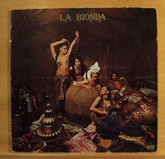 LA BIONDA - Same -  Vinyl LP - 1978 - Italo Disco Pop - One for you one for me