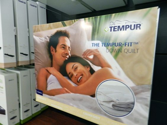 The TEMPUR-Fit down quilt | TEMPUR SHOWROOM AL HAMRA | Pinterest ... : tempur quilt - Adamdwight.com