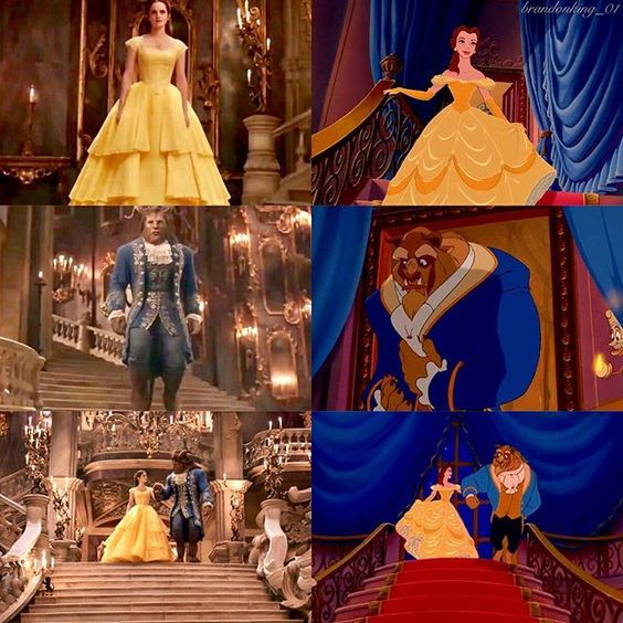 Tale as old as time, true as it can be. Barely even friends then somebody bends, unexpectedly. Just a little change, small to say the least. Both a little scared, neither one prepared. Beauty and the Beast.:
