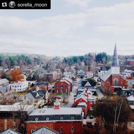"""@vermontshots """". . . Vermont's capital city Montpelier is the smallest in the nation with a population of a little over 8000. It may be small but it has great…"""""""