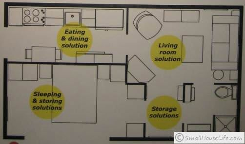 Ikea ikea studio apartment and studio apartment floor Ikea small house floor plans