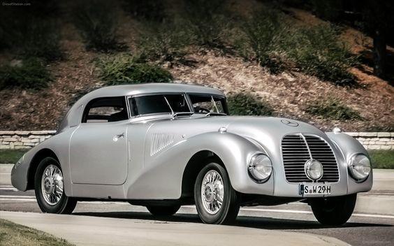 1938 Mercedes-Benz 540K Streamliner #mbhess #mbclassic