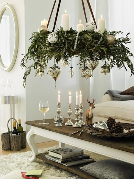 sch nes zum selbermachen festliche adventsdeko. Black Bedroom Furniture Sets. Home Design Ideas