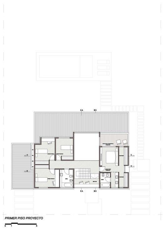 Gallery Of De La Huella House Nbbo Arquitectos 36 House Plans Architecture Floor Plans