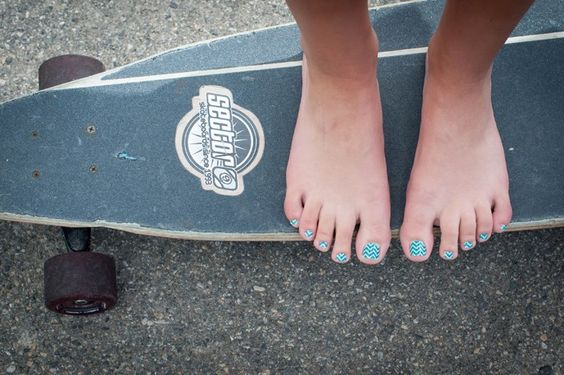 Who says tomboys can't appreciate a nice pedi?!  Not Jamberry Nails!