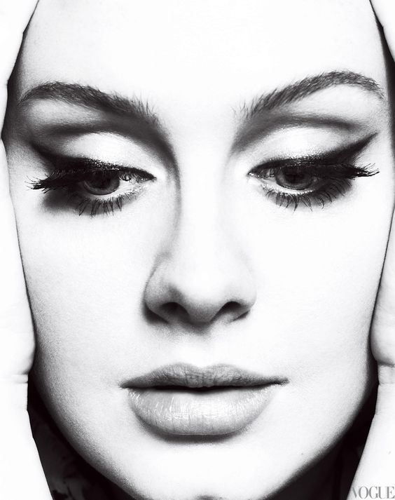 Adele. I love this woman. Funny, self-confident and a totally amazing voice. May the pressure of fame never change her.