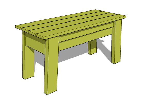 Heavy Duty Wood Bench Diy Projects No Really Do One