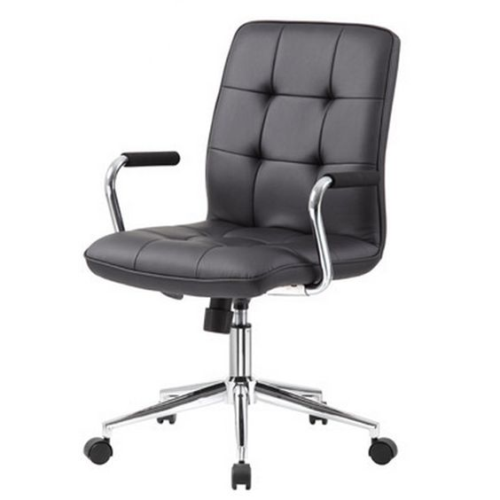 Modern Caressoftplus Task Chair W Arms By Boss B331 28389