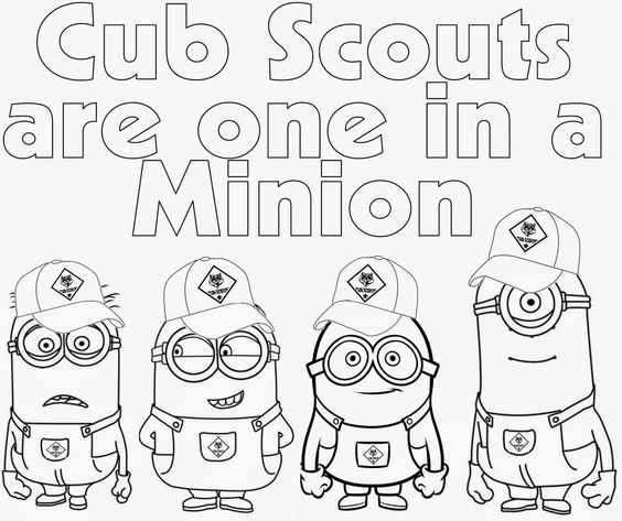 Wolf cub scout coloring pages coloring pages for Wolf cub coloring pages