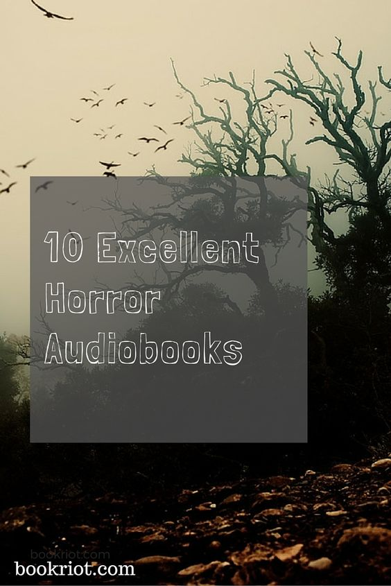 Listen in to some excellent horror novels on audio.